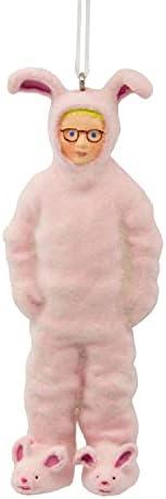 Hallmark A Christmas Story Ralphie in Bunny Suit Christmas Ornament