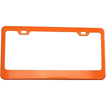 Amazon.com: WeatherTech (8ALPCF13) ClearFrame License Plate Frame ...