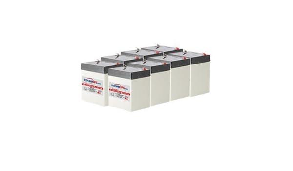 APC//Dell Smart-UPS 2200 Rack Mount DLA2200RM2U Compatible Replacement Battery Kit