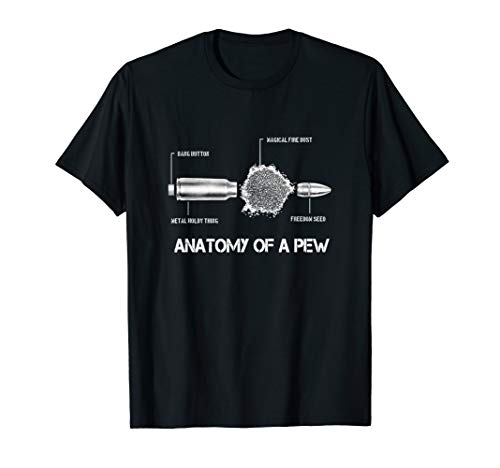 (Funny ammunition anatomy shirt 5,56 mm | gift soldier police)