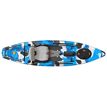 FeelFree Lure 11.5 Kayak w/ Sonar and Electronic Pod Blue...