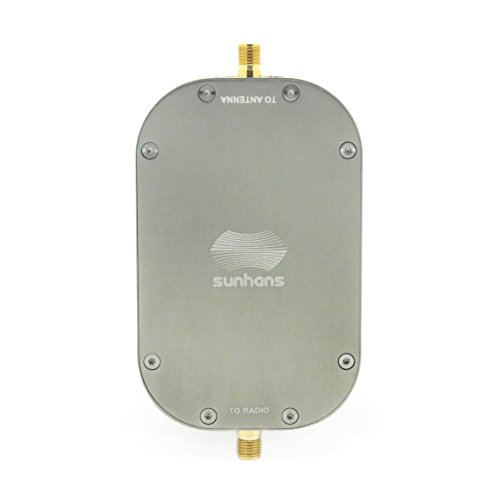 Sunhans eSunRC 2000mW 2.4&5.8Ghz Dual Band 33dBm WiFi Signal Booster Compatible with DJI, Yuneec, 3DR, XIRO,Parrot, JTT and Blade Drones