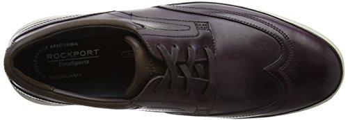 Dressports Rockport Scarpe Oxford Uomo Burgundy Stringate 2 Wingtip Viola Lite nnZUTx