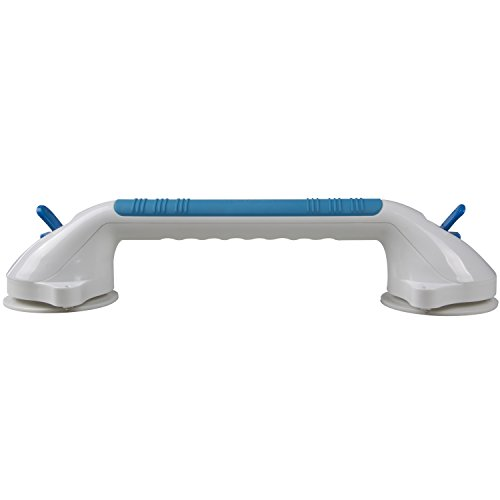 """Suction Grip Bathtub and Shower Handle with color lock indicators (16"""" Length)"""