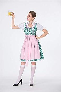 Amazon.com: JJ-GOGO Oktoberfest Disfraz de mujer – Halloween ...