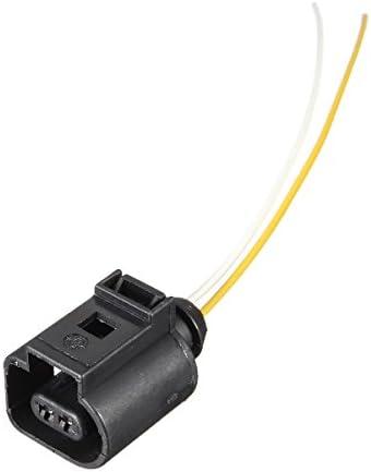 Tutoy Arnés Eléctrico 2 Pines Conector Enchufe Cableado para VW Au ...
