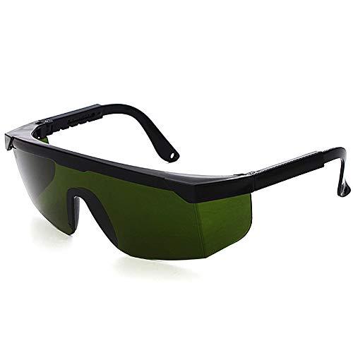 Laserschutzbrille IPL Beauty Equipment Brille Brille Anti Laser Schutzbrille Augenschutz für Beauty & Kosmetologie Augenschutz Laserschutzbrille (Dunkelgrün)
