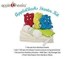 Applecheeks Starter Kit Bamboo (Size 2) by Apple Cheeks