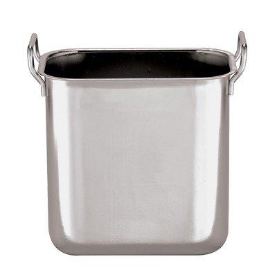 Square Bain Marie Insert in Silver Size: 3.63 (Copper Bain Marie)