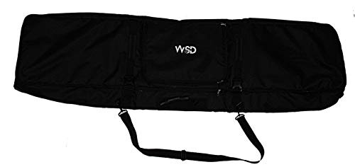 Wheelie Bag Snowboard Fully Padded Bag Wheelies Heavy Duty Travel Bag with Wheels and Backpack Straps 155cm New