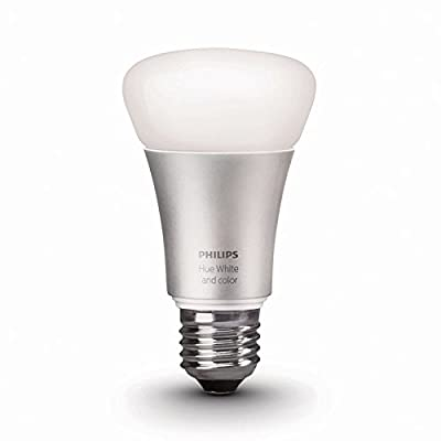 Philips 456202 Hue White & Color Ambiance A19 Extension Bulb, Works with Amazon Alexa (Certified Refurbished)