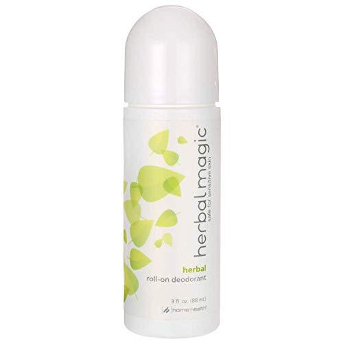 Home Health Herbal Magic Roll-On Deodorant, Herbal Scent , 3-Fluid Ounces