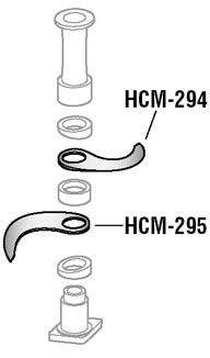 Alfa HCM-294 Knife Follower replacement part for Hobart cutter mixer by ALFA
