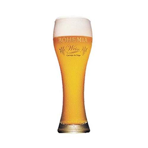 Bohemia Weiss Copo para Cerveja 670 Ml, Ambev 3531, Transparente