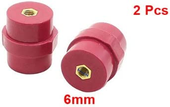 uxcell 2 X SM30 6mm Bore 30mm Height Busbar Insulators Supports Separators