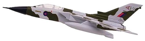 Postage Stamp Planes - Model Power Postage Stamp 1:100 Diecast Tornado Plane with Stand