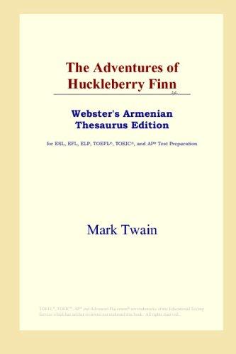 The Adventures of Huckleberry Finn (Webster's Armenian Thesaurus Edition) pdf epub