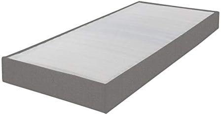 EBAC Omega - Somier tapizado (70 x 190 cm, 18 láminas ...