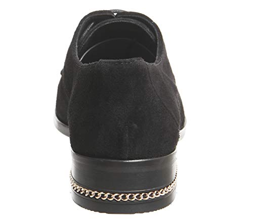 Up Suede Franco Rose Office Heel Black Chain Gold Lace qxORywHUcS