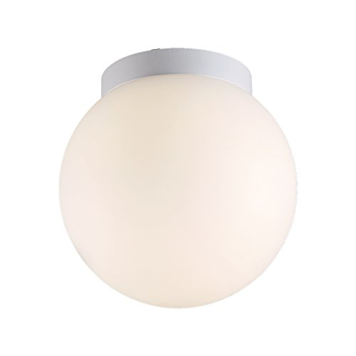 6 Inches WAC Lighting FM-W52309-WT 9in White Niveous LED Flush Mount, 9 Inches,