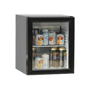 Mini nevera con 1 puerta de cristal 130L 600x520x900mm: Amazon.es ...