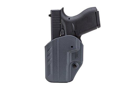 BLACKHAWK! A.R.C. Appendix Reversible Carry Inside the Pants Fits Glock 42 Ambidextrous Holster, Urban Gray (Inside Pant Blackhawk Holster)