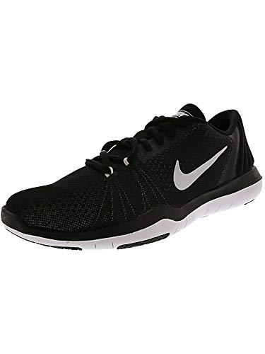 - NIKE Women's Flex Supreme TR 5 Cross Training Shoe, Black/White/Pure Platinum, 7.5 B(M) US