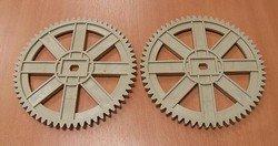 SS-186168 ruedas dentadas para panificadora Moulinex x2