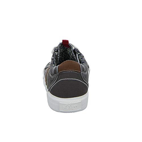 Grigio Stringate S Degli oliver Casual In Tela 13601 Sneaker Webb Uomini qOvgq
