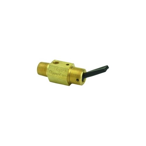 Clippard TV-3SFP 3-Way Toggle Valve, Plastic Toggle, 1/8'' NPT, 4.5 SCFM at 50 PSIG, 8 SCFM at 100 PSIG by clippard