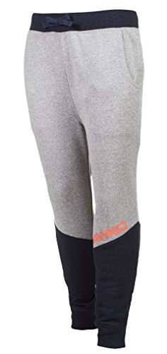 TONY HAWK Kids Boys French Terry Fleece Jogger Pants with Drawstring Waist and Pockets School Clothes Pants Heather Grey Size 18/20