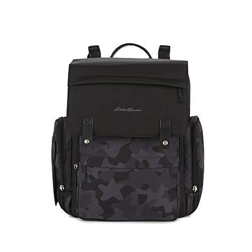 Eddie Bauer Compass Back Pack Diaper Bag, Black