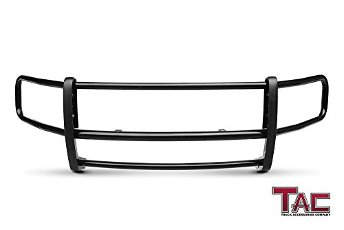 TAC Custom Fit 2015-2019 Ford Transit Van (Full Size) Black Front Brush Bumper Guard Grille Guard Push Guard Off Road Automotive Exterior Accessories