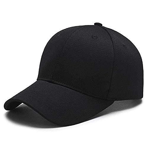 237c6bc1b2d3 MoohMaya Unisex Cotton Baseball Cap(Black)  Amazon.in  Clothing    Accessories