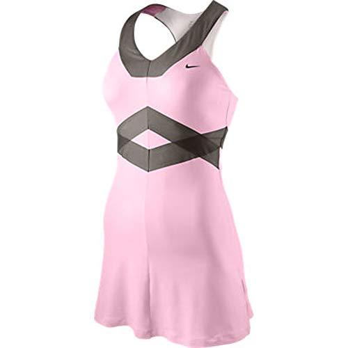 Nike Dress Tennis (NIKE Maria Back Court Day Dress Liquid Pink)