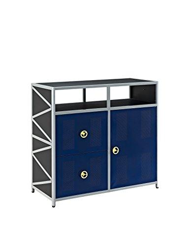 Powell 904-008T1 Dune Buggy 2-Drawer/1-Door Cabinet