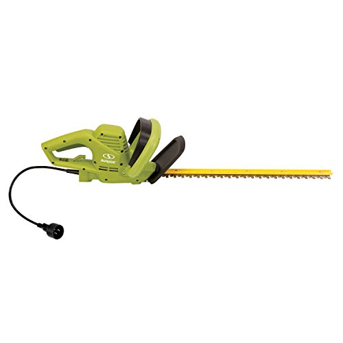 Sun Joe HJ22HTE 22' 3.5 Amp Electric Hedge Trimmer, Green