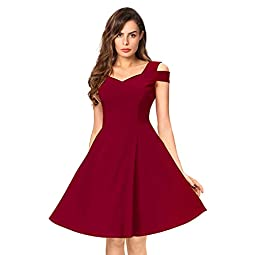 Illi London Women's Knee Length Dress.