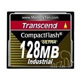 Transcend 128MB Industrial Cf Card 100X (UDMA4)