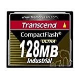 Transcend 128MB 100x CompactFlash™ Industrial (ULTRA DMA Mode 4 ⁄ Fixed Disk)