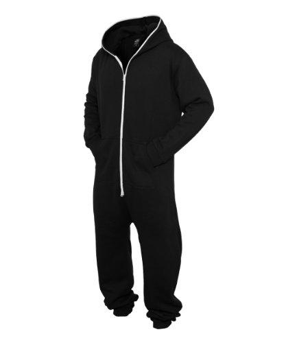 Urban Men's Sweat Jumpsuit Size XL/XXL, Color black-white TB277