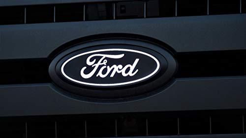 Putco 92701 Front Luminix LED Emblem w/o Camera Cutout for 17-19 Ford F-250/F-350 Super Duty