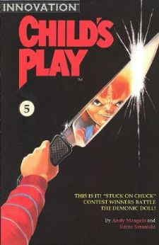 Child's Play: The Series #5 FN ; Innovation comic book ()