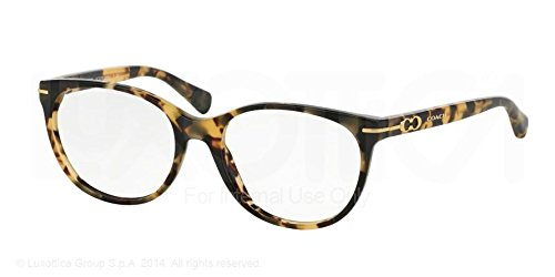Coach Betty Eyeglasses HC6056 5093 Dark Vintage Tortoise 51 17 (6056 Eyeglasses)