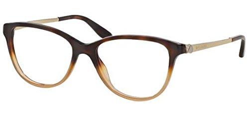 Bvlgari Women's BV4108B Eyeglasses Havana Gradient Brown 55mm