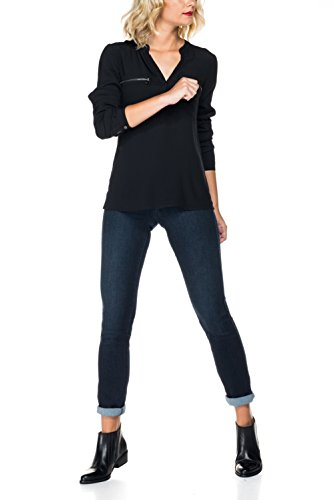 In Pantaloni Salsa Push Slim Azzuro Touch Soft aUnWwqEn8