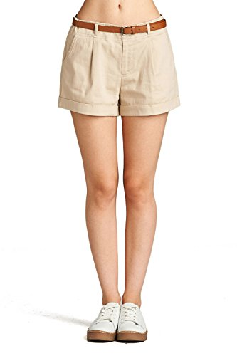 Pleated Womens Khakis - 2