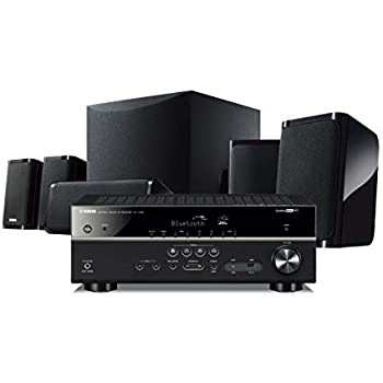 Yamaha YHT-5950UBL 4K Ultra HD 5.1-Channel Home Theater System with Wi-Fi, Bluetooth and Musiccast. Works with Alexa