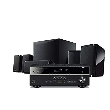 Yamaha YHT-5950UBL 4K Ultra HD 5.1-Channel Wired Home...