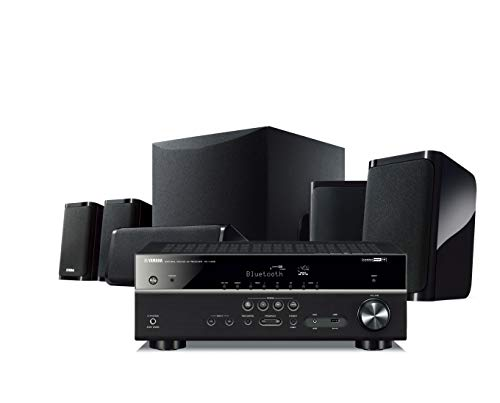 Big Save! Yamaha YHT-5950UBL 4K Ultra HD 5.1-Channel Home Theater System with Wi-Fi, Bluetooth and M...
